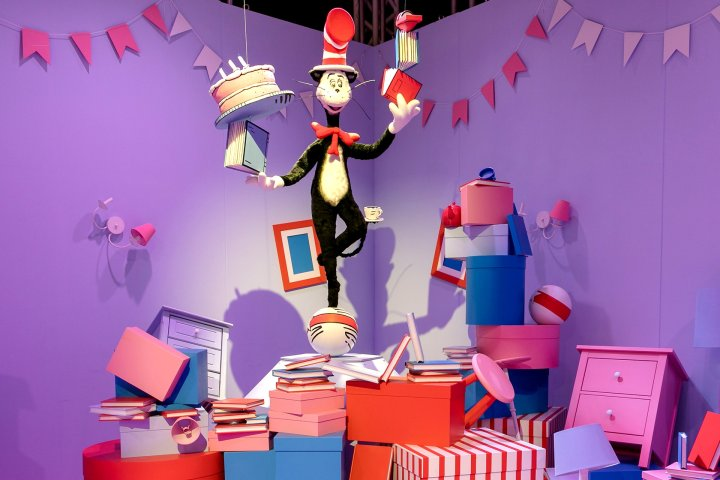 Cat in the Hat exhibit at The Dr. Seuss Experience