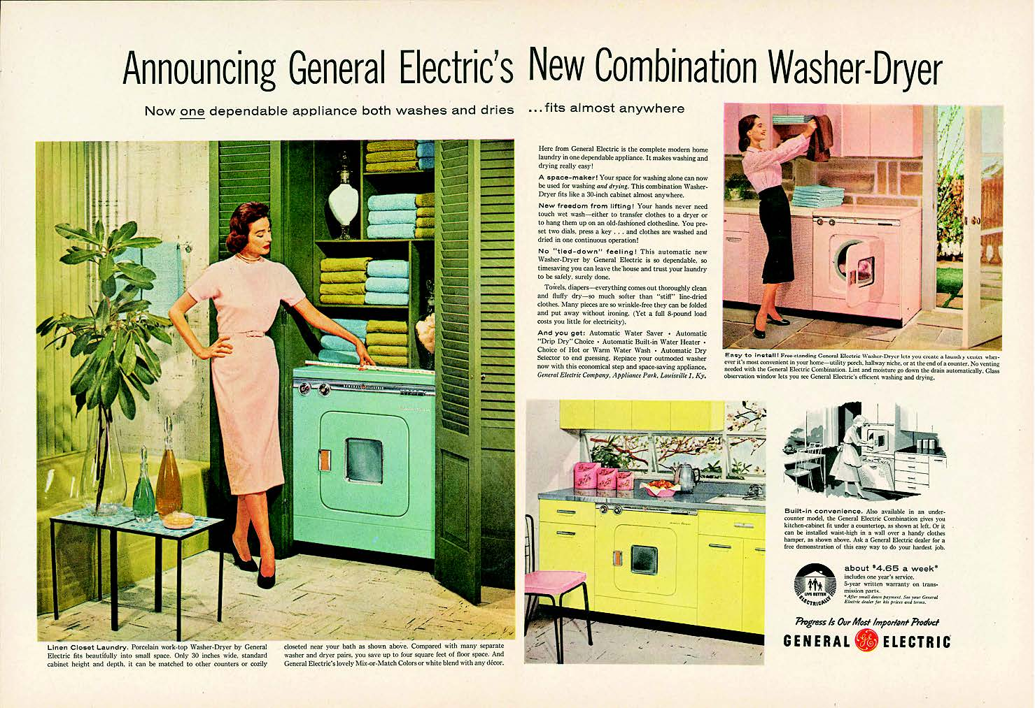A 1957 General Electric advertisement