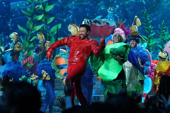 Shaggy as Sebastian in ABC's 'The Little Mermaid Live!'