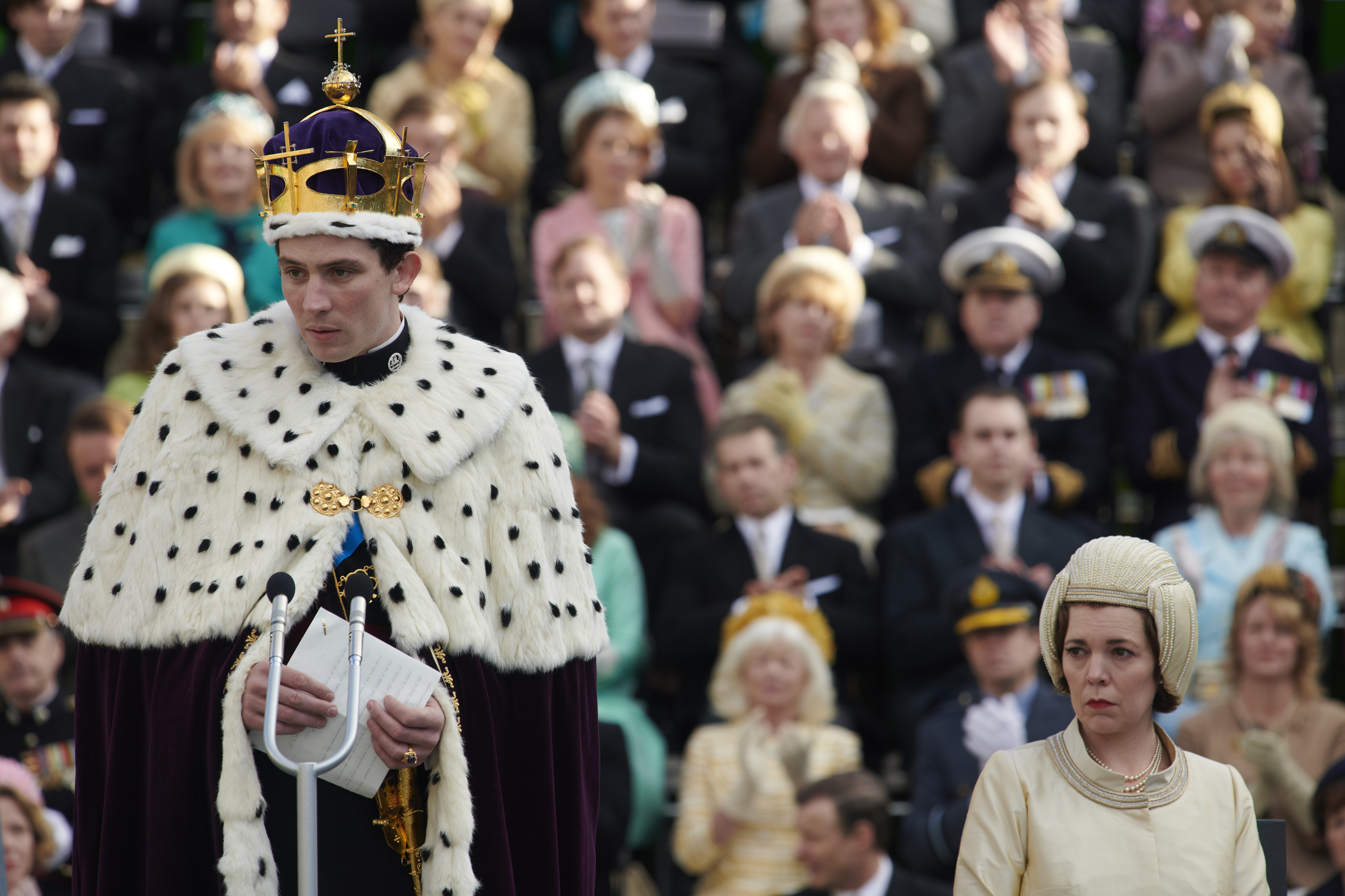 Josh O'Connell as Prince Charles in 'The Crown.'