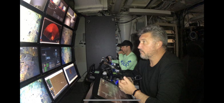Tim Taylor and his team used unmanned undersea submersibles to locate the U.S.S Grayback on June 5 in more than 1,400 feet of water off Japan.