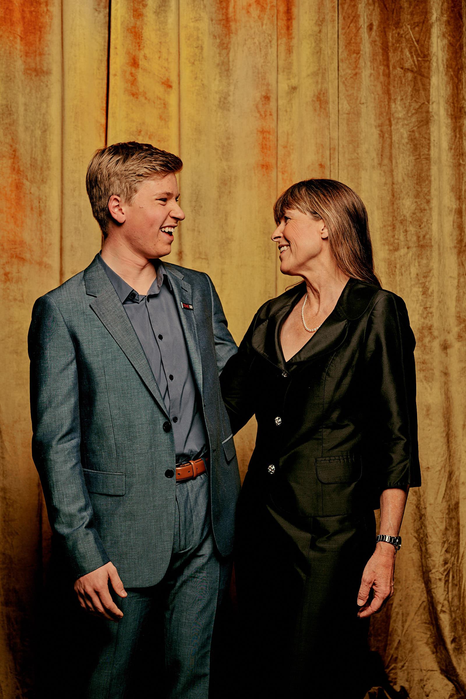 Robert and Terri Irwin