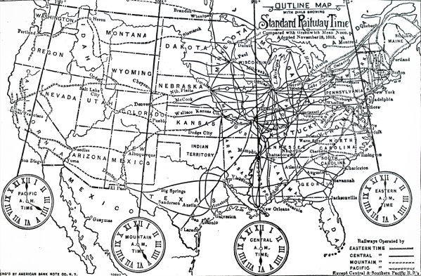 What Happened the Day the US Adopted Standardized Time Zones ...