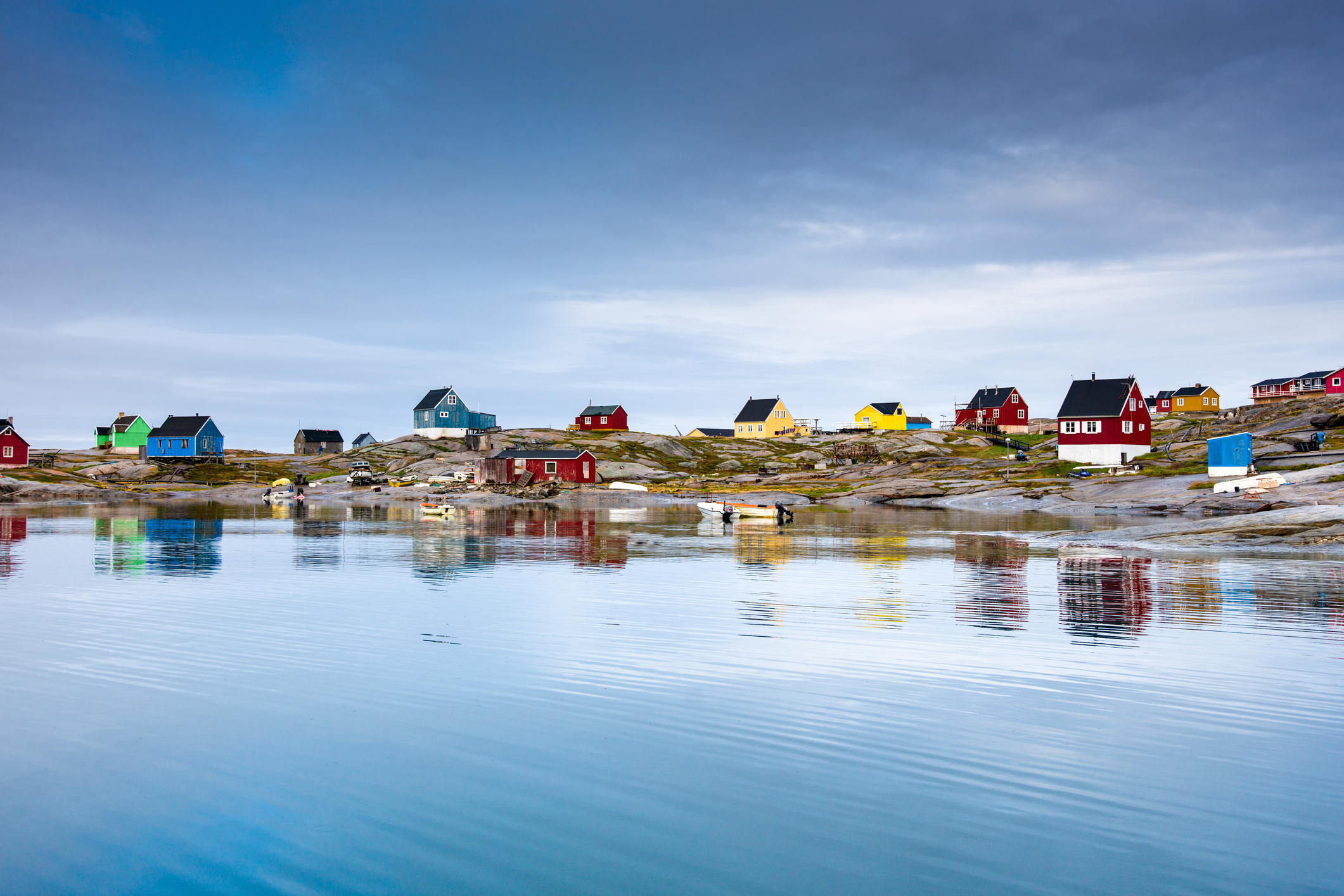 Oqaatsut, West Greenland.