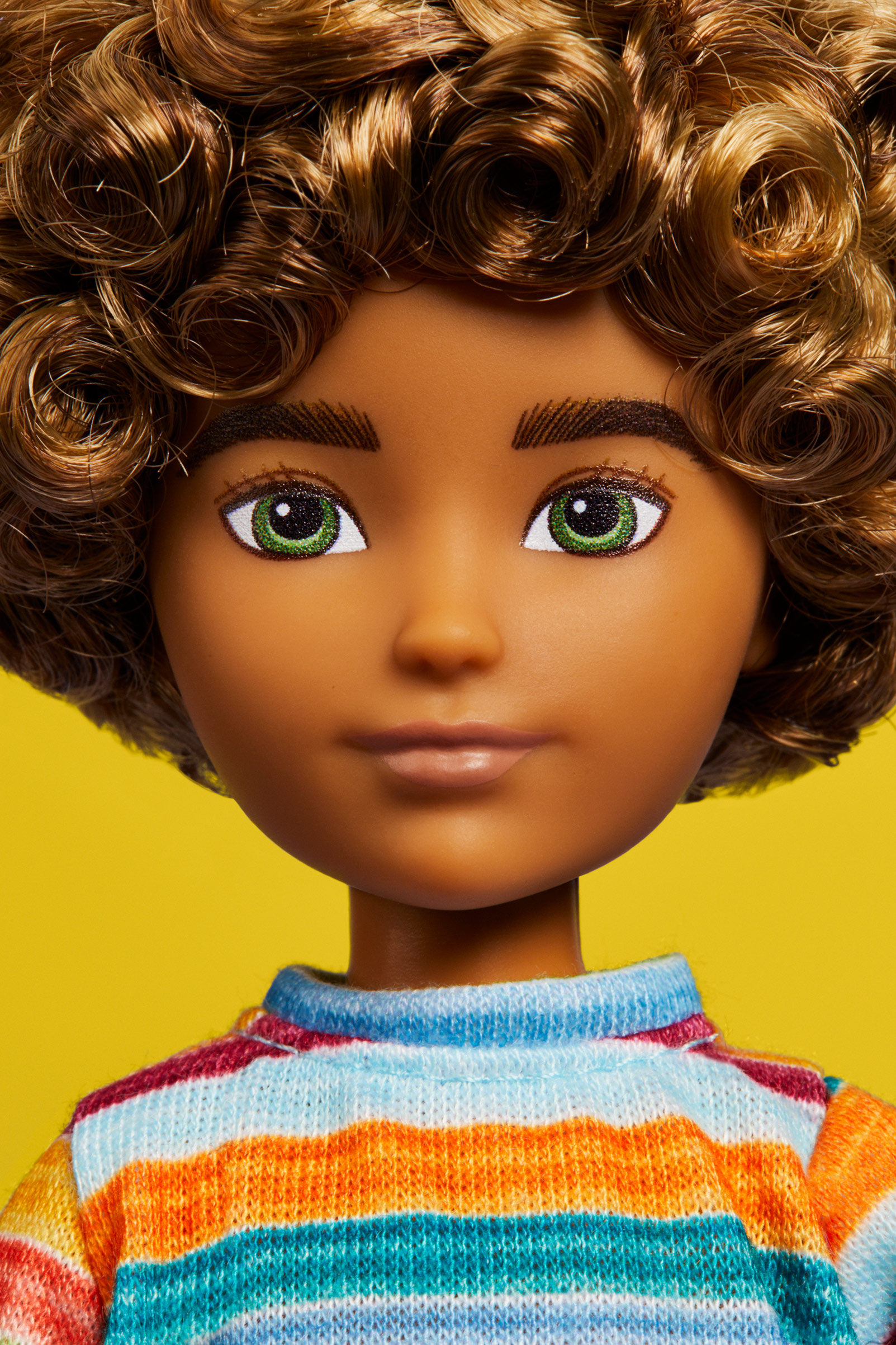 Mattel gender-neutral doll.  It can be a boy, a girl, neither or both,  Oct. 7 issue.