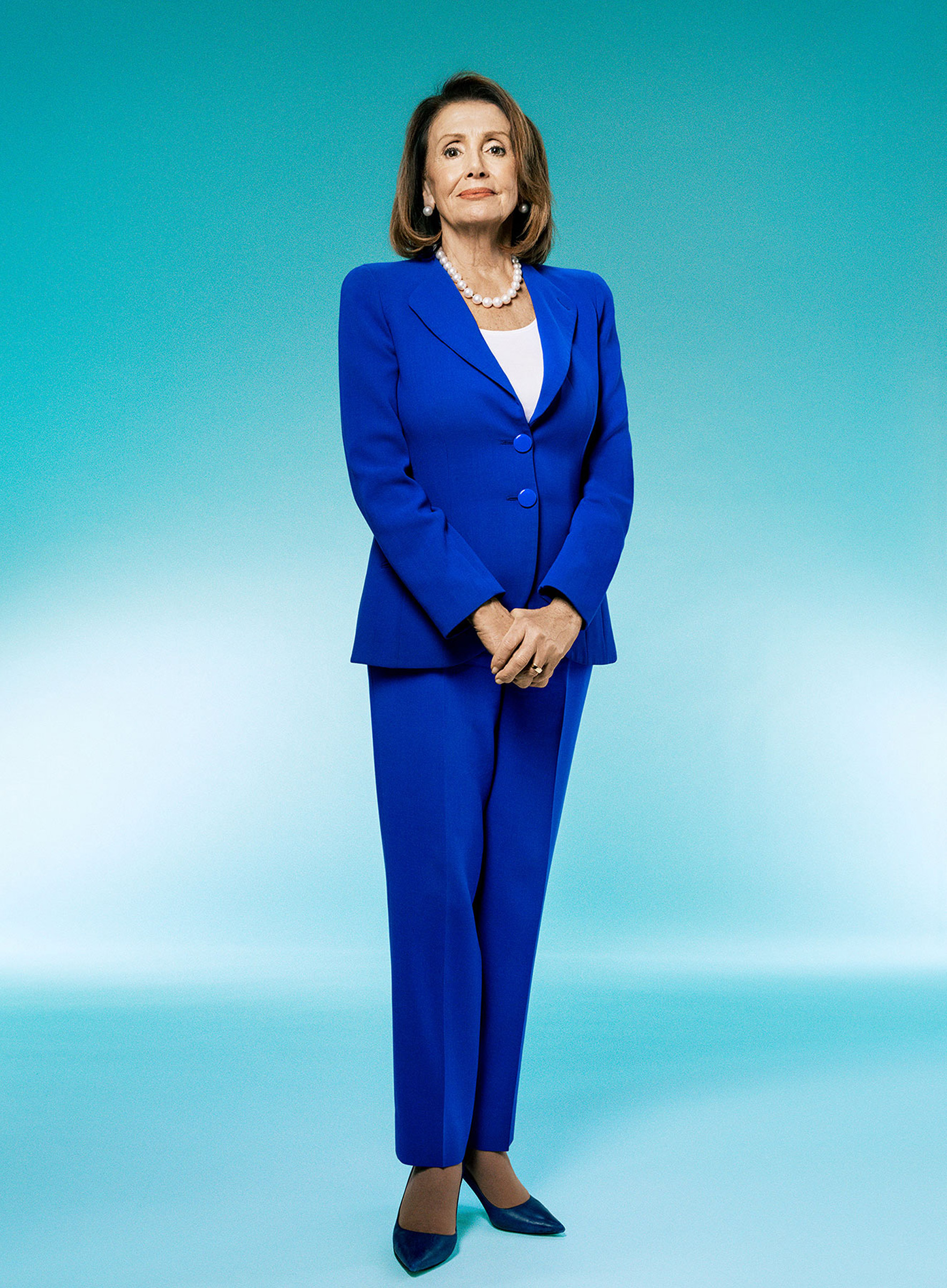 Nancy Pelosi.  TIME 100 Most Influential People,  April 29 issue.