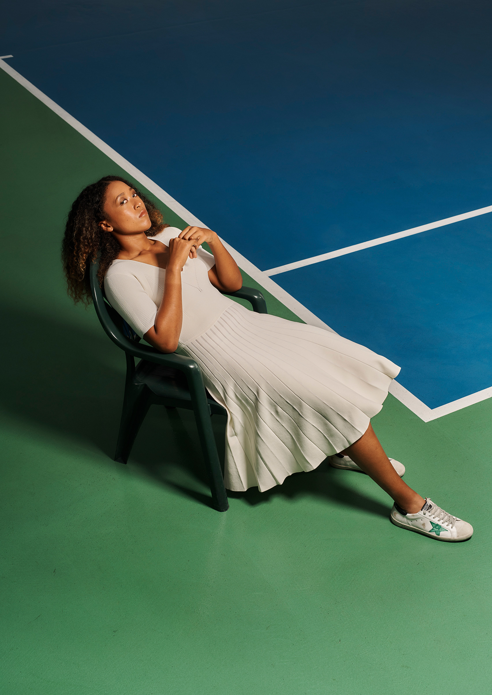 Naomi Osaka.  The Heir,  Jan. 21 issue.