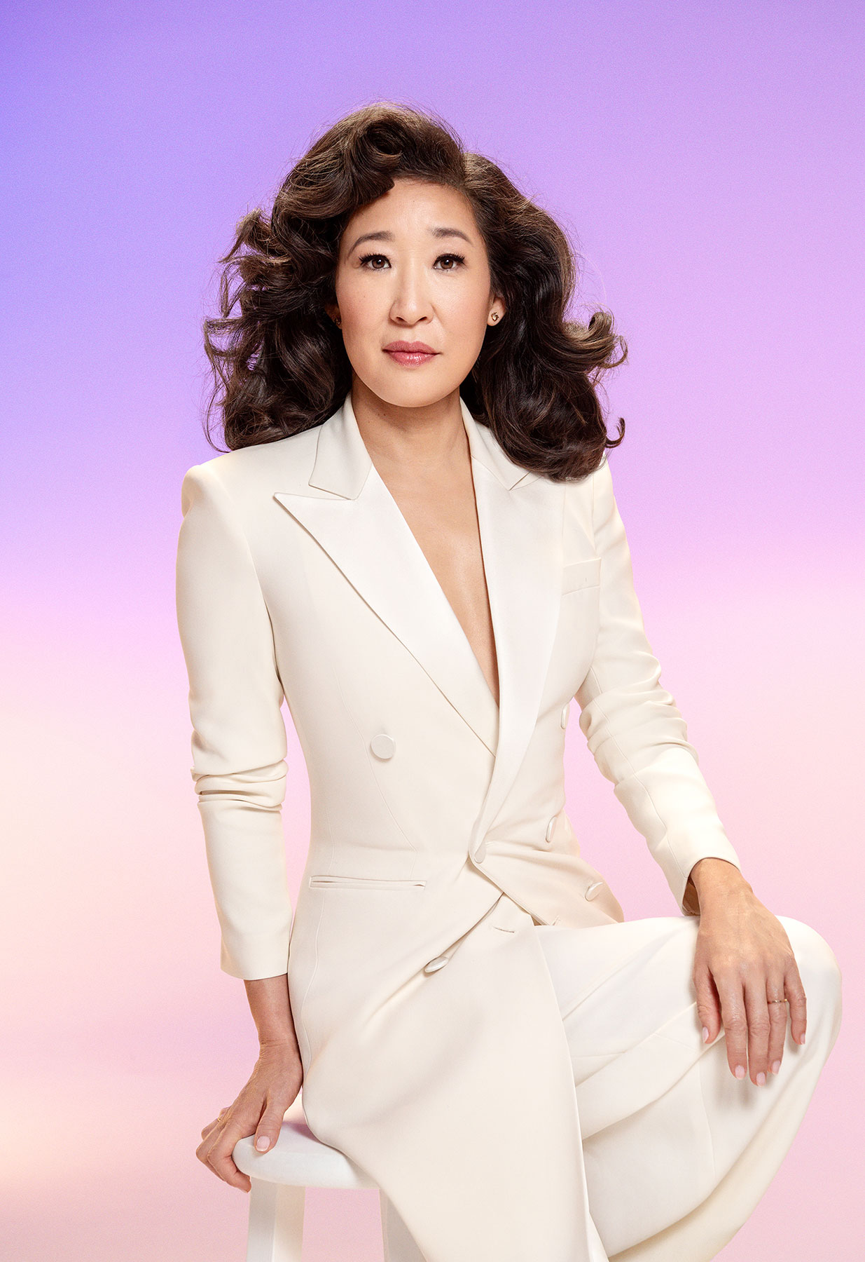 Sandra Oh.  TIME 100 Most Influential People,  April 29 issue.