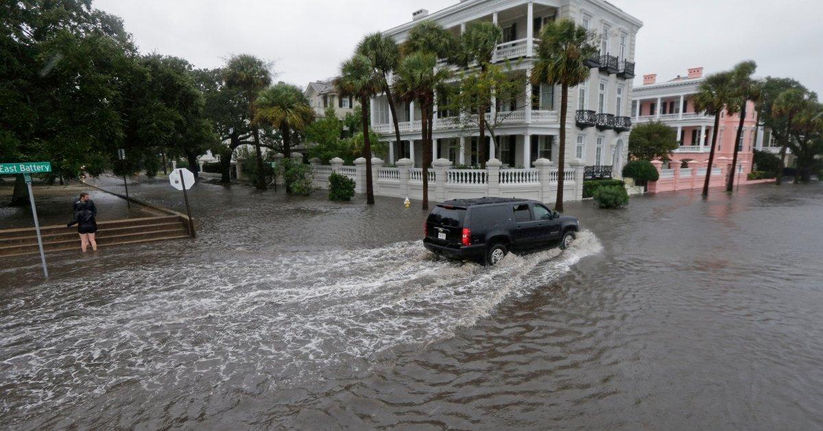 Исторические города США пережили войны и штормы, но повышение уровня моря представляет собой существенную угрозу thumbnail