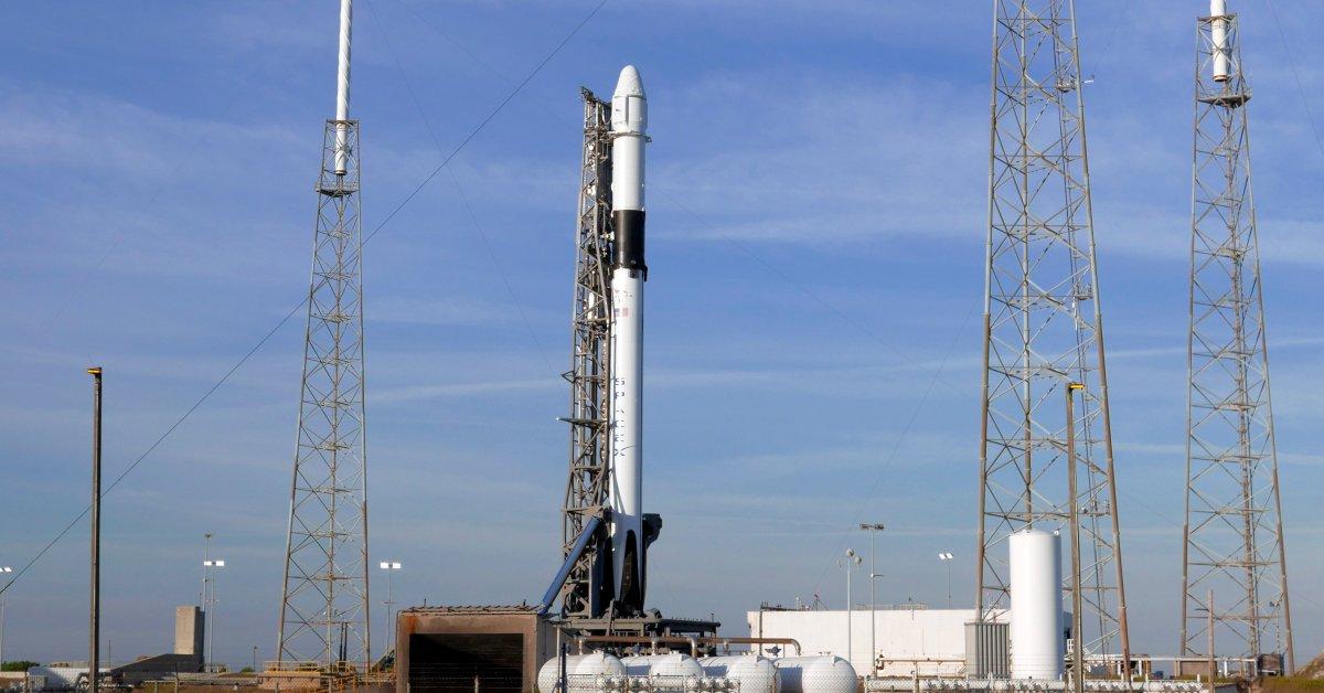 SpaceX запускает отгрузку праздничных подарков, робота Caring и пива на международную космическую станцию thumbnail