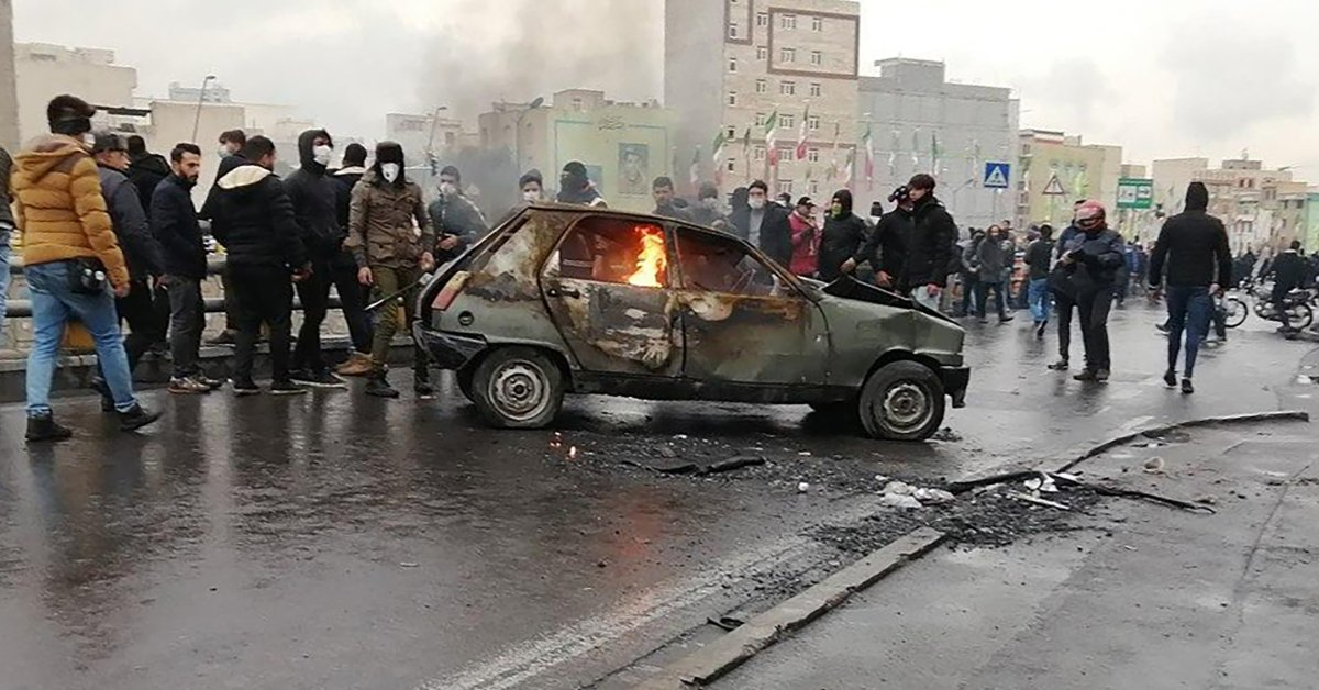 Amnesty International Says at Least 208 People Have Been Killed in the Protests in Iran