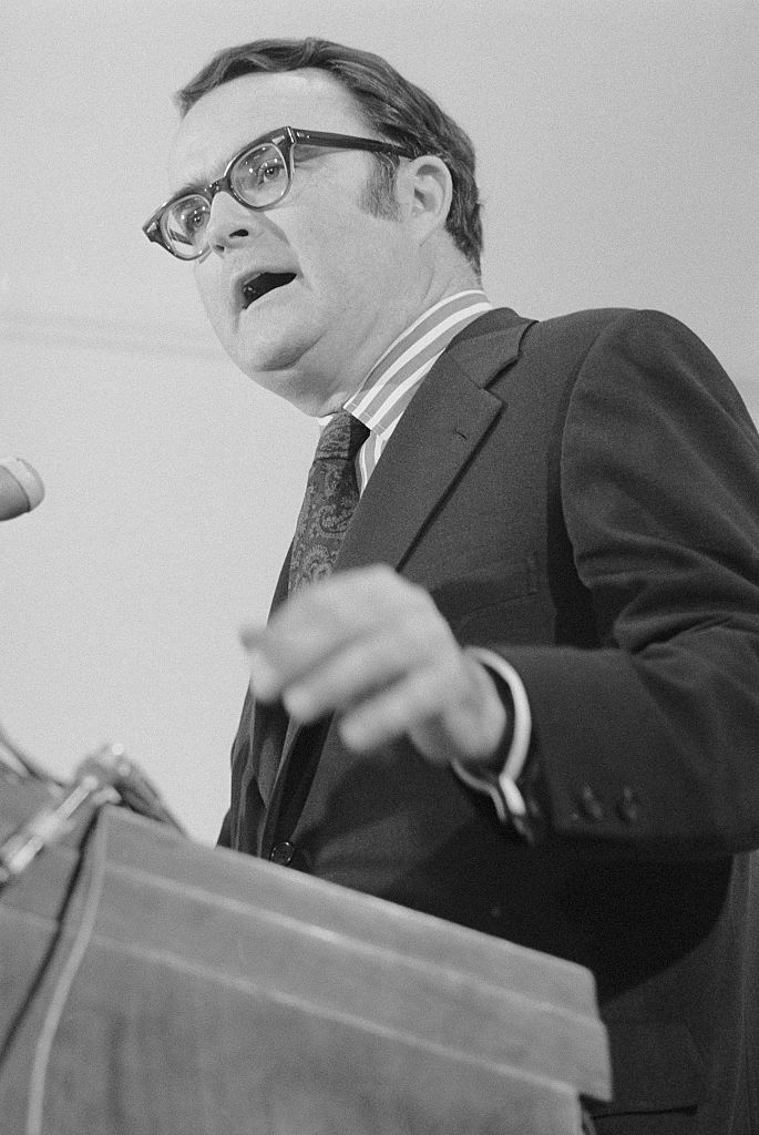 Acting FBI Director William Ruckelshaus on May 14, 1973.