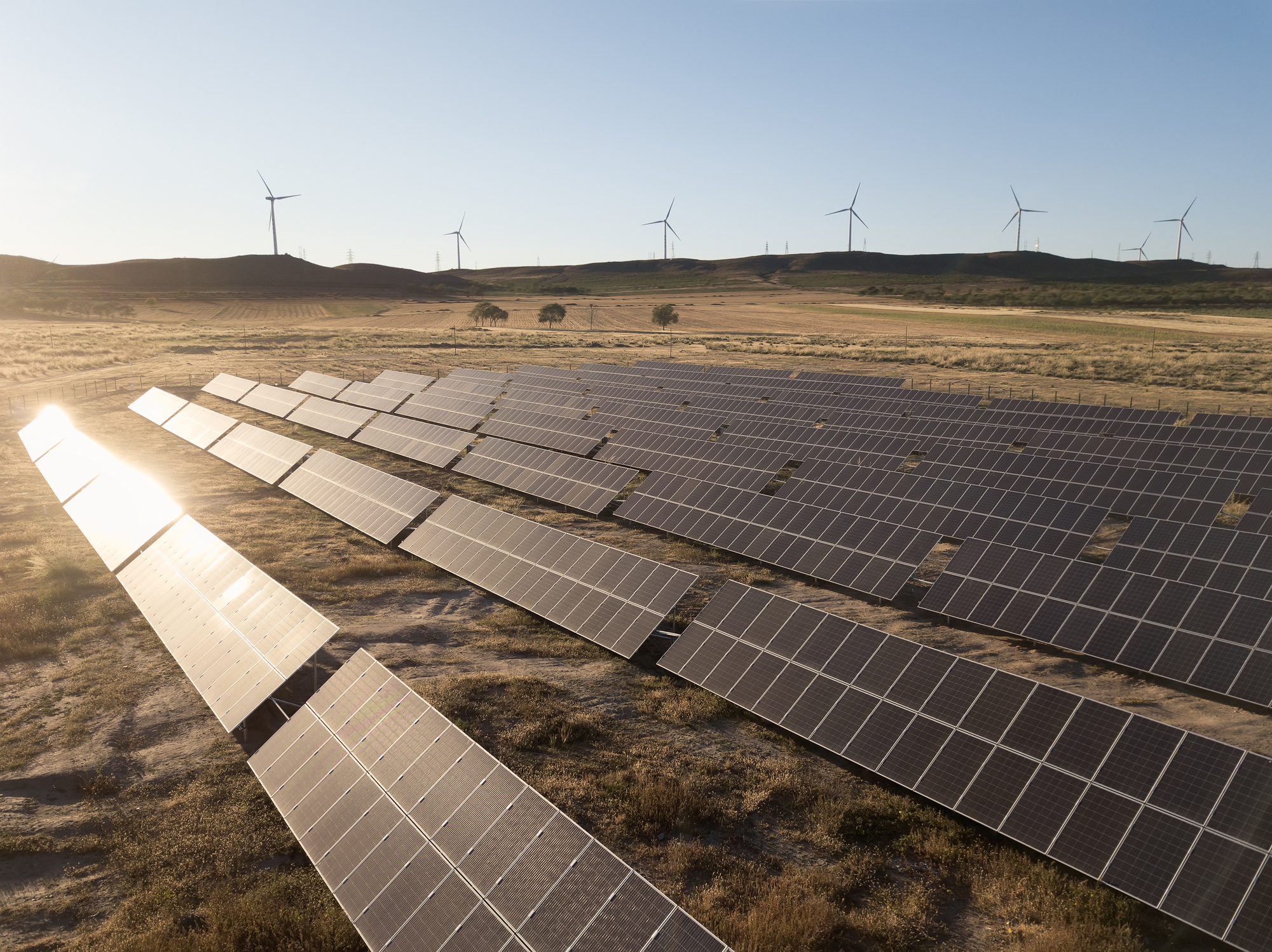 Carbon markets could help drive investment for renewable energy projects, such as solar power plants.