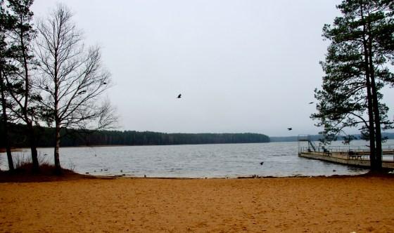 Visaginas lake