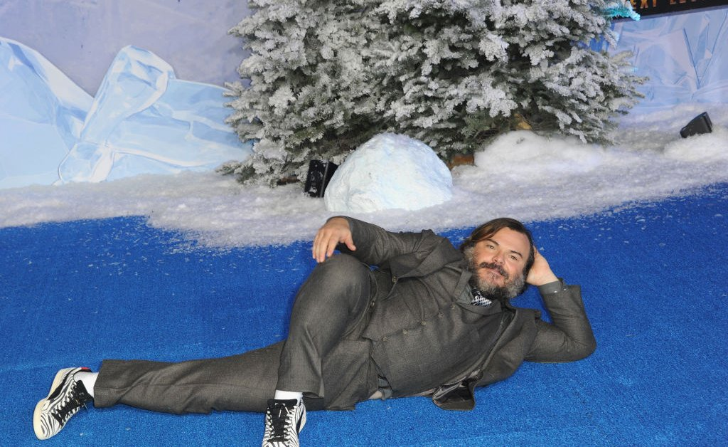 Hammy Jack Black Has the Best Reaction to the Stunning Realization He Was in a Holiday Movie