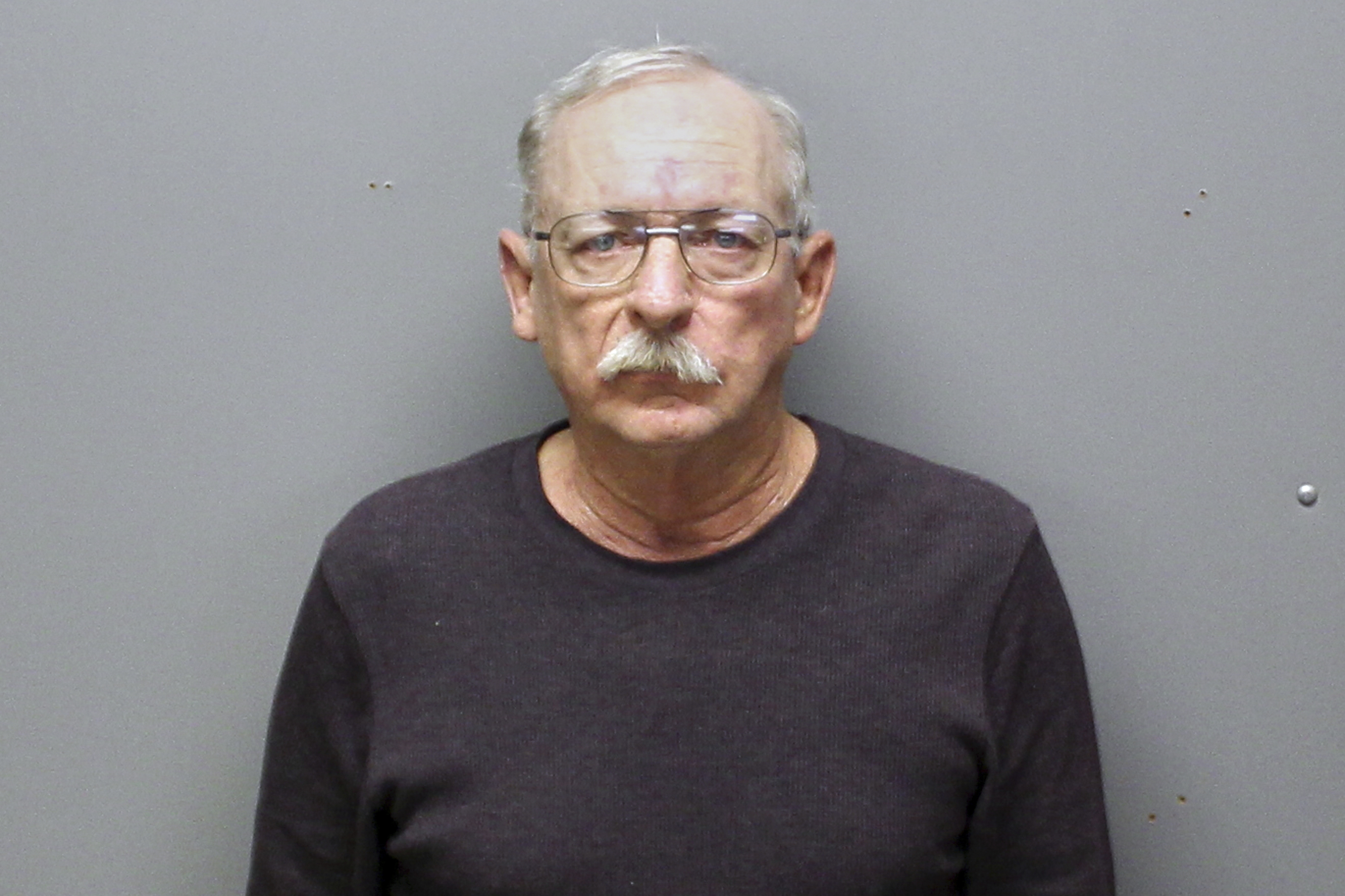 This Monday, Dec. 23, 2019 arrest photo provided by the Franklin County, Mo., Sheriff's Department shows Kirby King, 64.