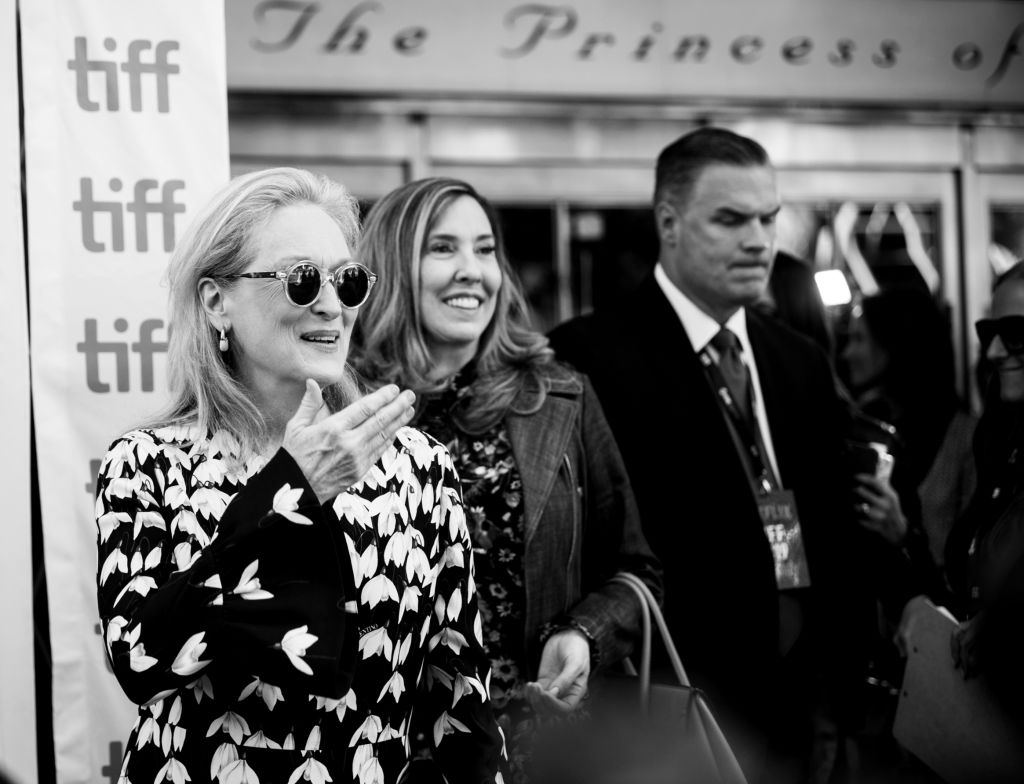 Meryl Streep attends the North American Premiere of 'The Laundromat' at the The Princess of Wales Theatre on September 09, 2019 in Toronto, Canada.