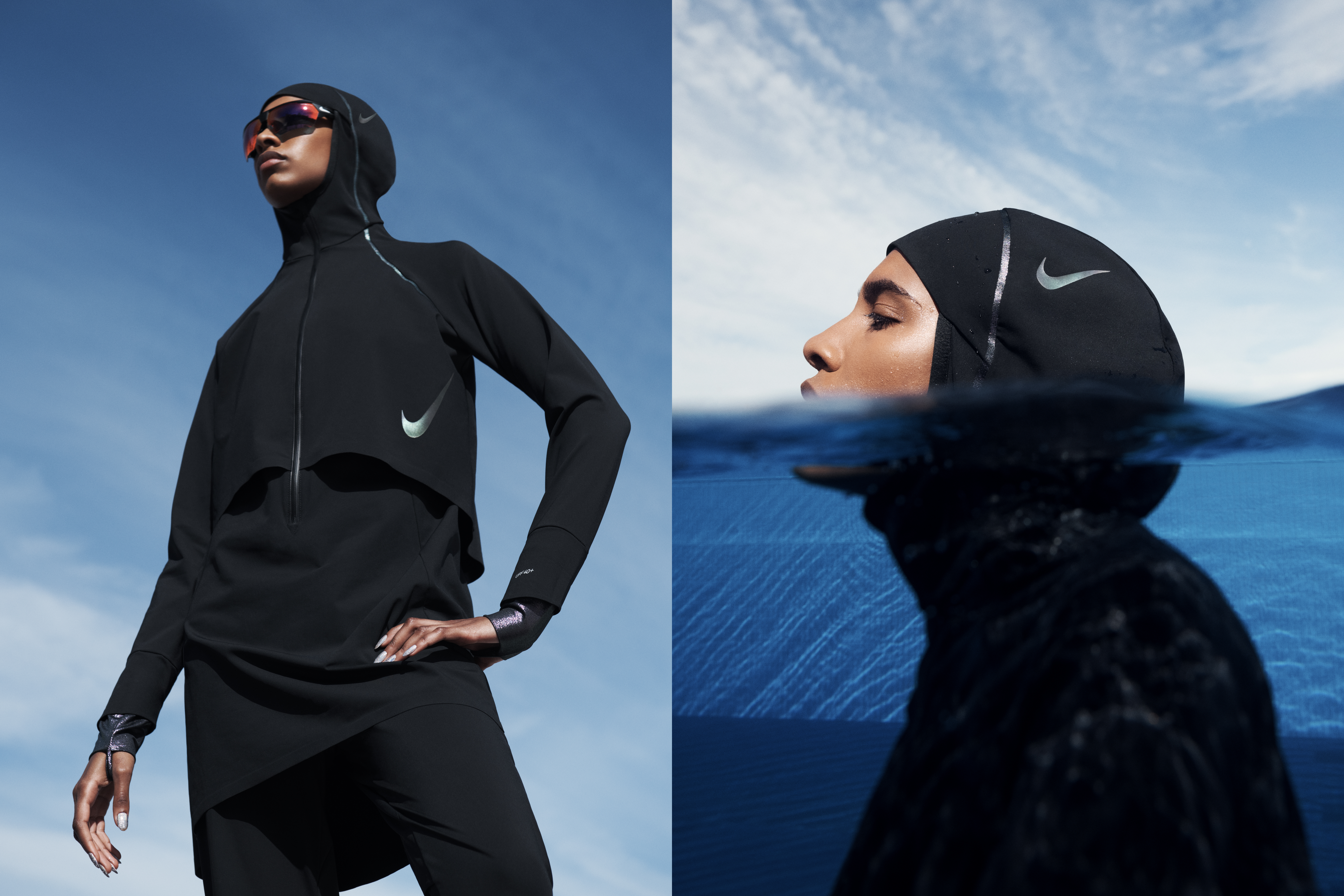 Nike Launches New Swimwear For Women Who Wear A Hijab Time