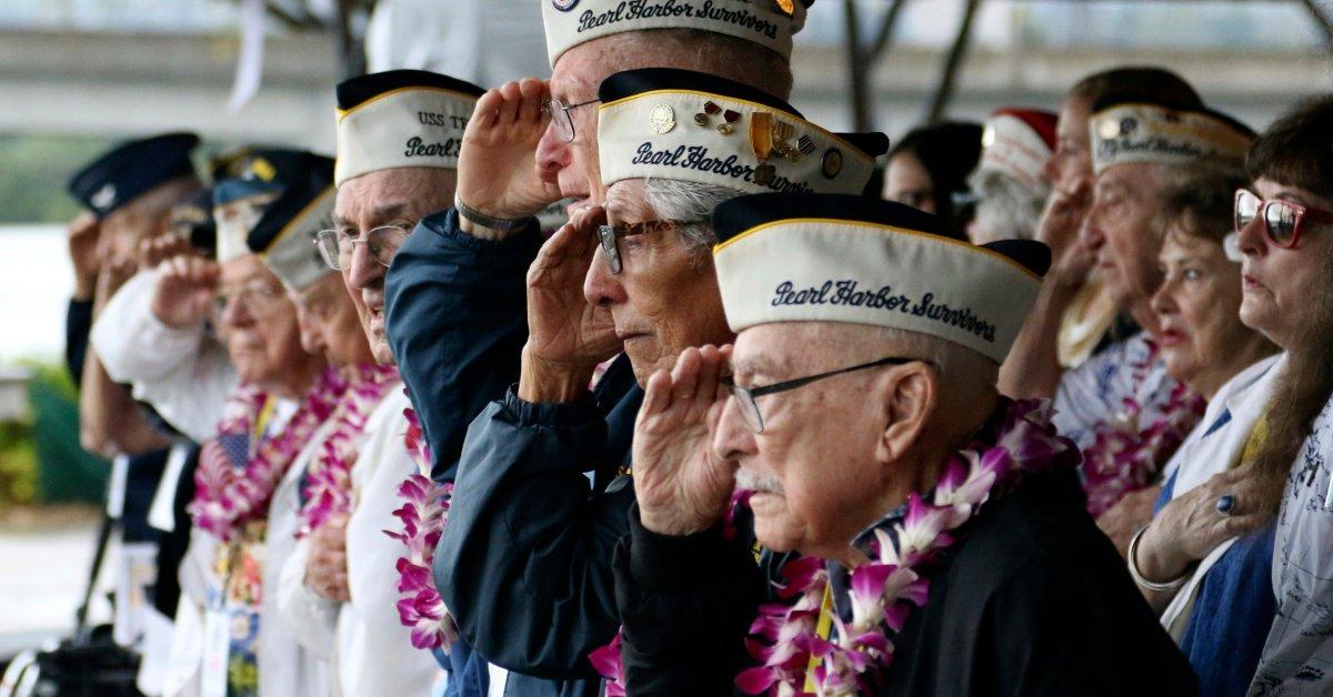 Церемония, посвященная 78-й годовщине нападения на Перл-Харбор thumbnail