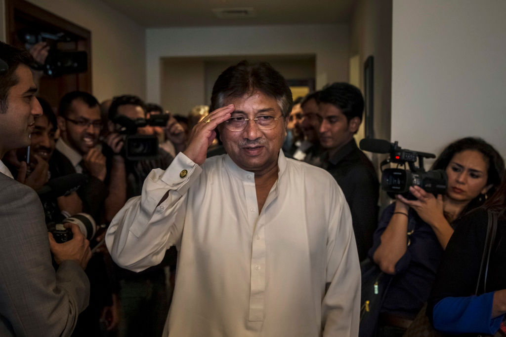 Image result for Ex-Pak President Pervez Musharraf sentenced to death by special court for high treason
