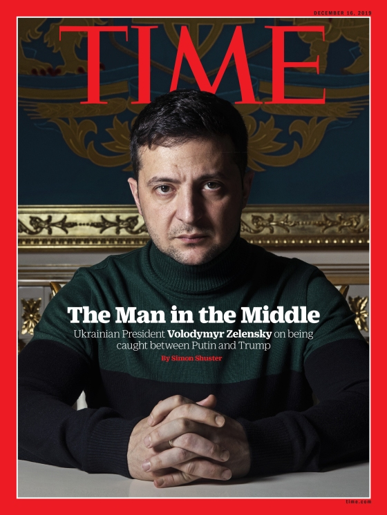 Zelensky Interview Time International