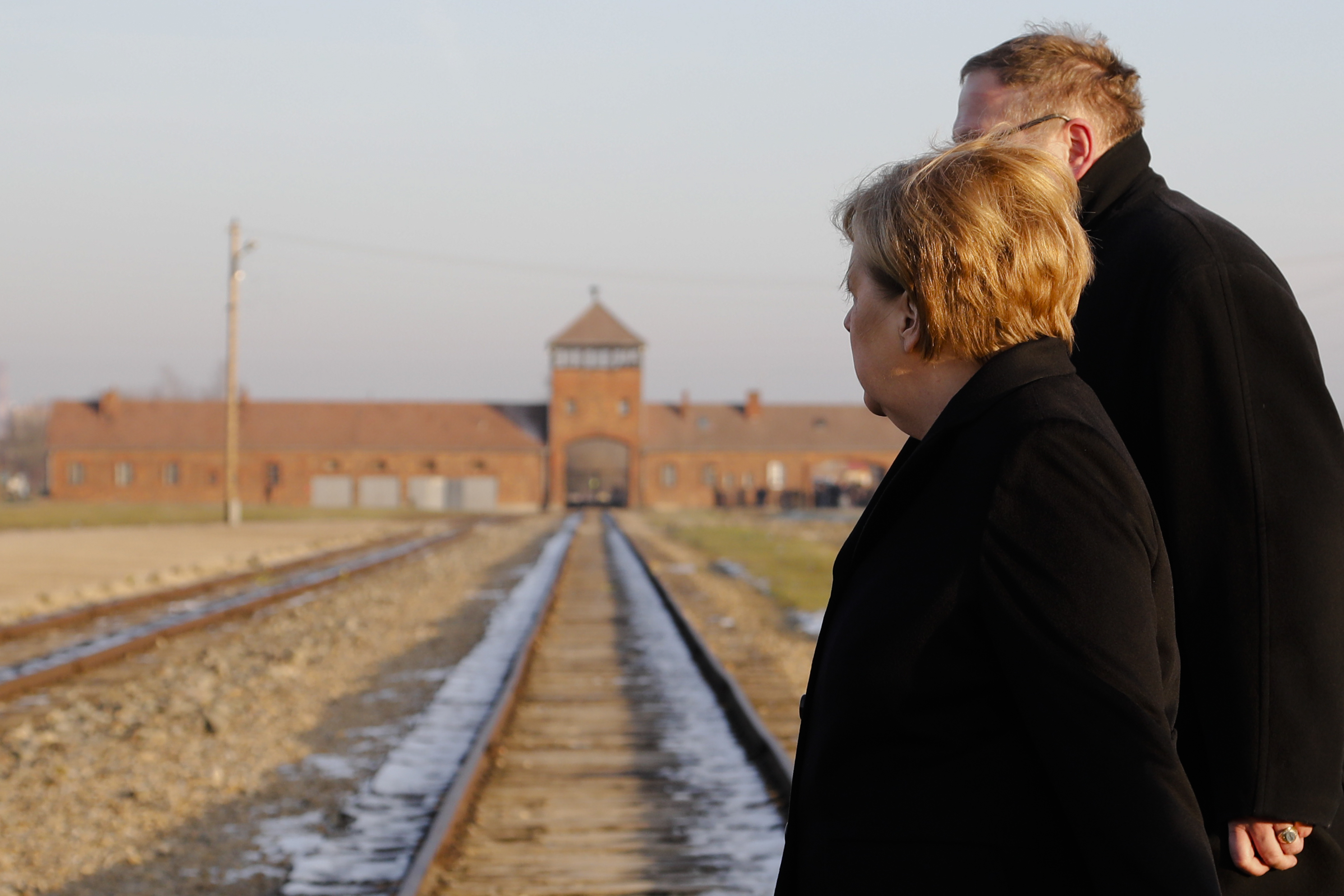 Germany's Angela Merkel Voices Feeling of 'Deep Shame' During Auschwitz Visit