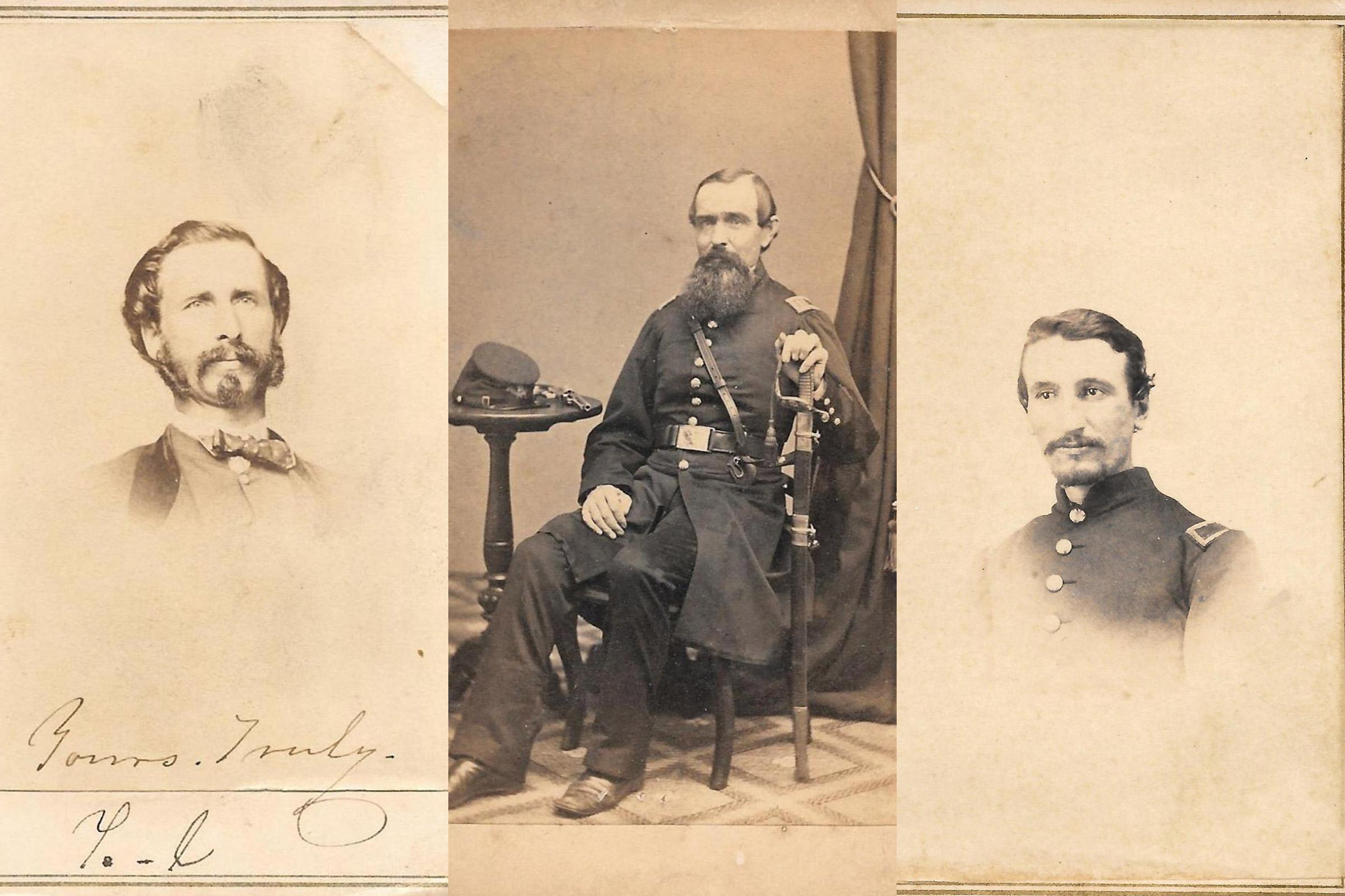 William Kendall Crossfield; Samuel Holmes Doten; Almeron C. Inman