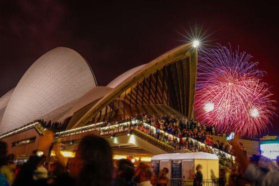 Australians Celebrate New Year's Eve 2019
