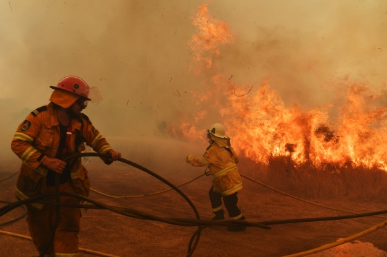 Bushfires Continue To Burn Across NSW As Catastrophic Fire Conditions Ease
