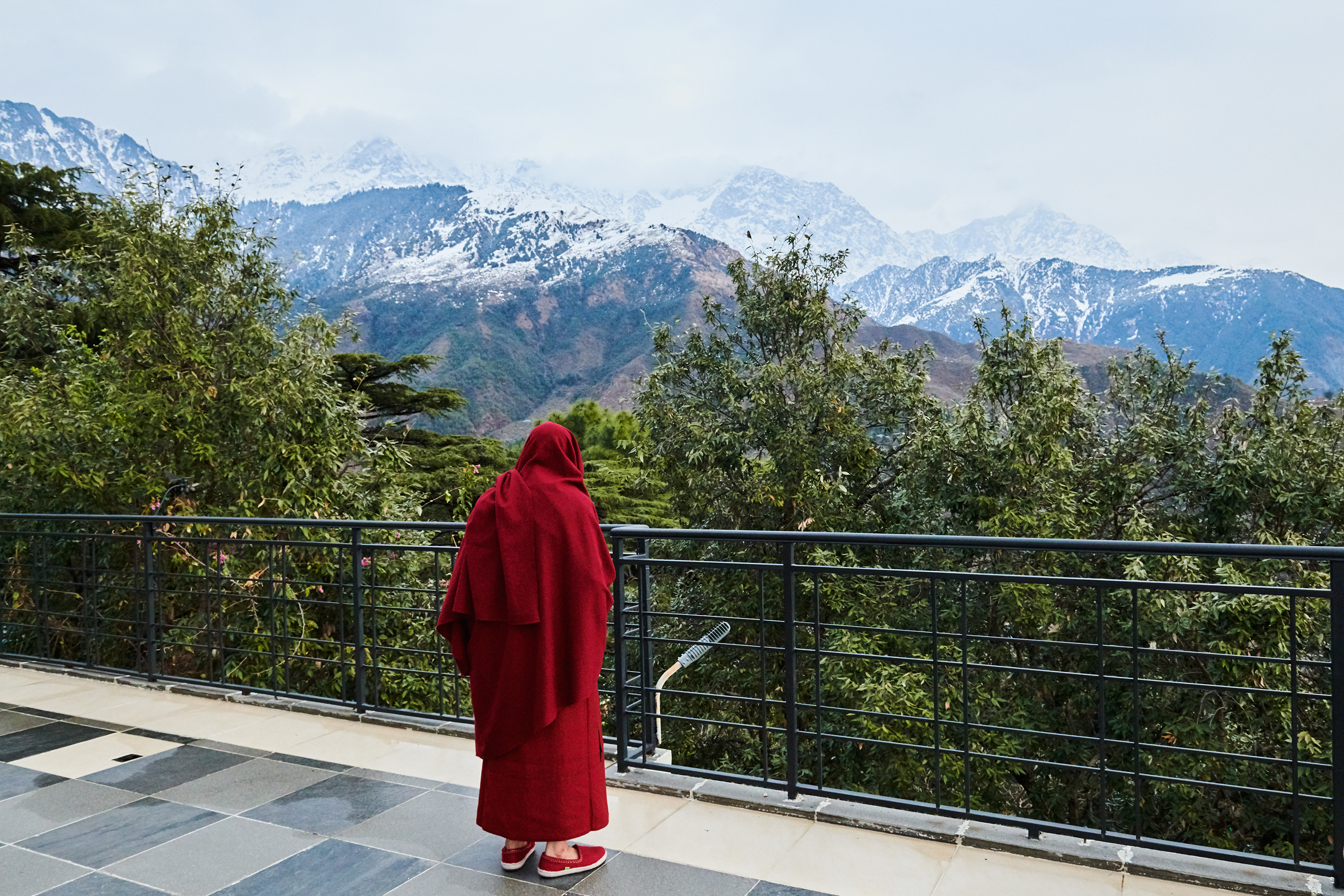 Six decades on, the Dalai Lama, photographed in February, still hopes he will visit his birthplace again. March 18 issue.