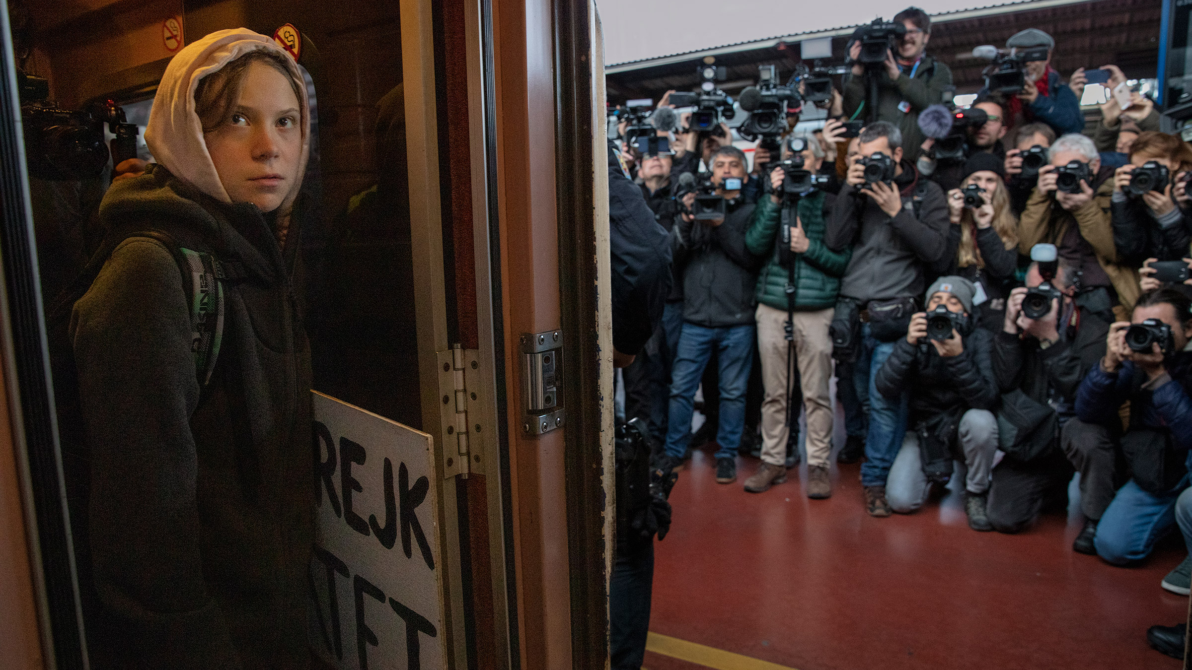Greta Thunberg arrives in Madrid for the last U.N. climate summit before a crucial deadline in 2020. Dec. 23 issue.
