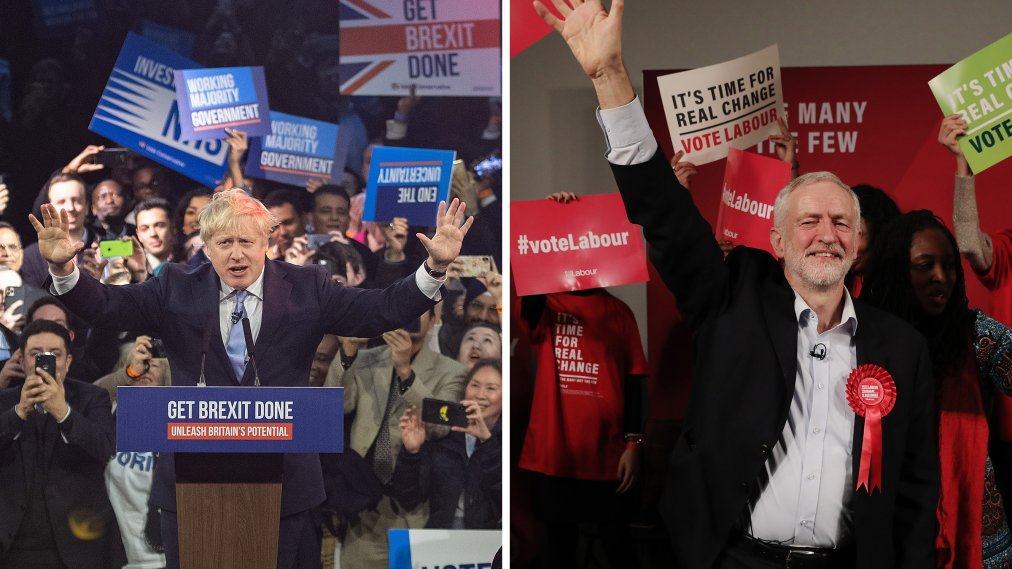 Boris Johnson's Conservative Party Secures a Landmark Victory in the U.K. Election