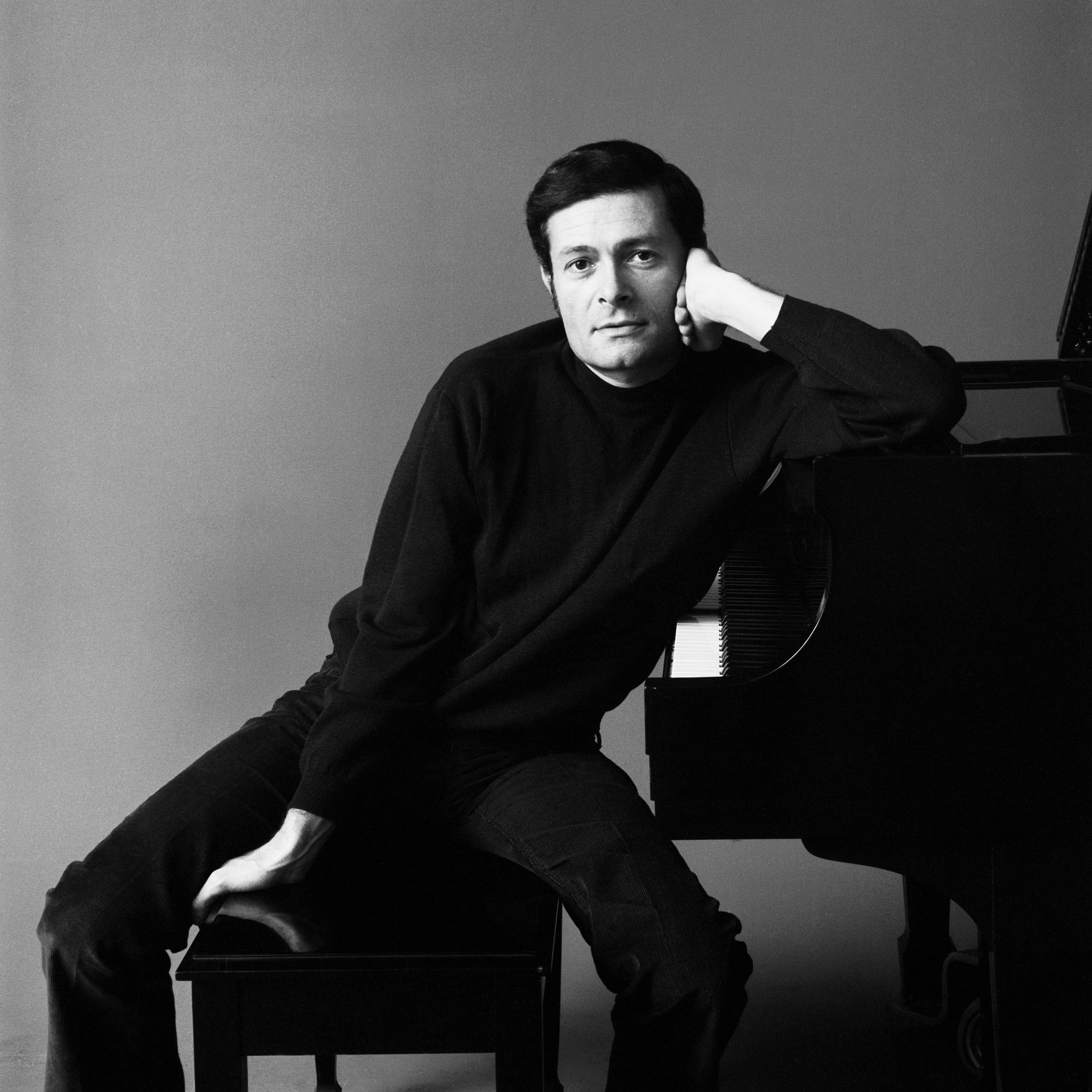 Portrait of composer Jerry Herman, c: 1960s-70s.