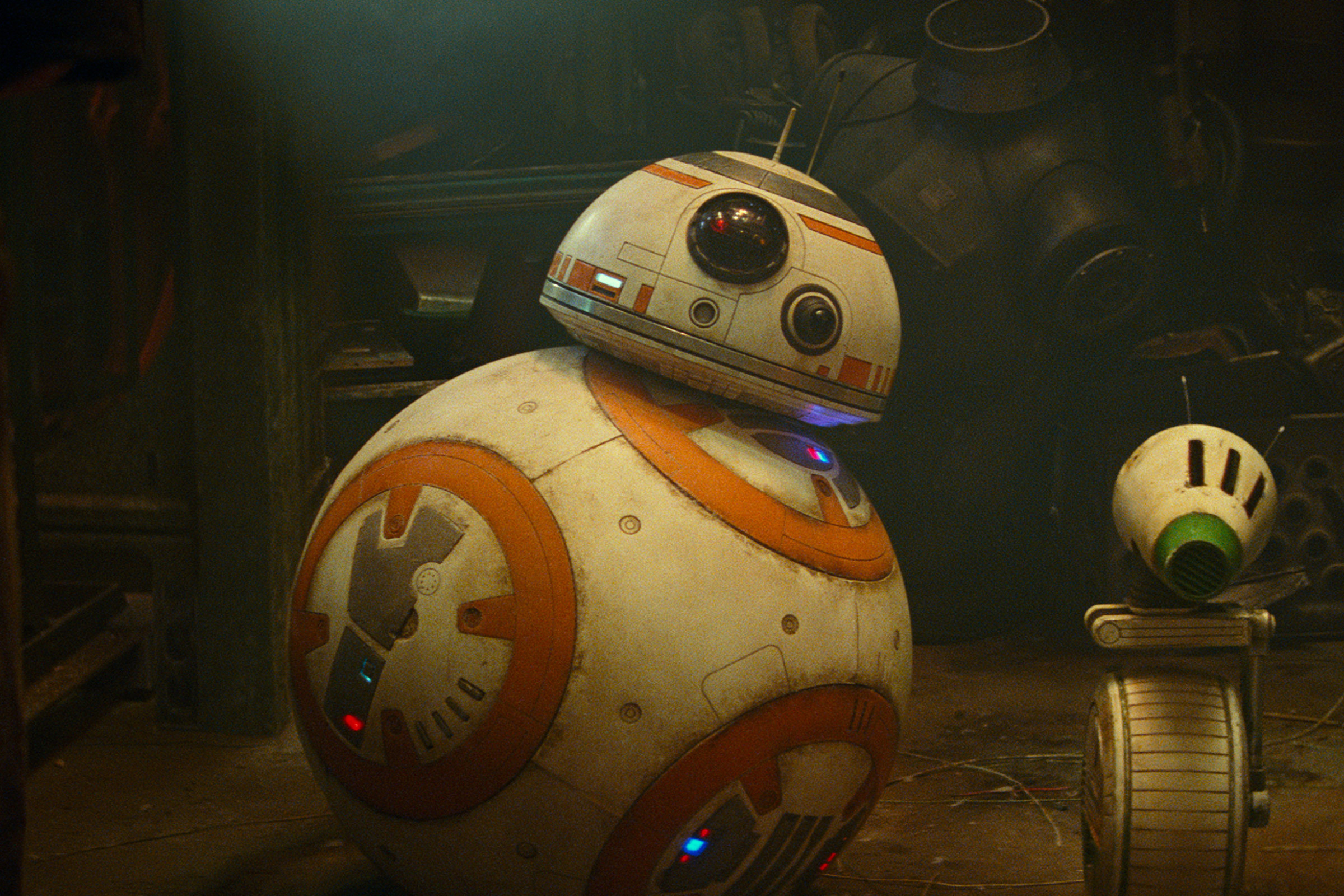 BB-8 in Star Wars: The Rise of Skywalker