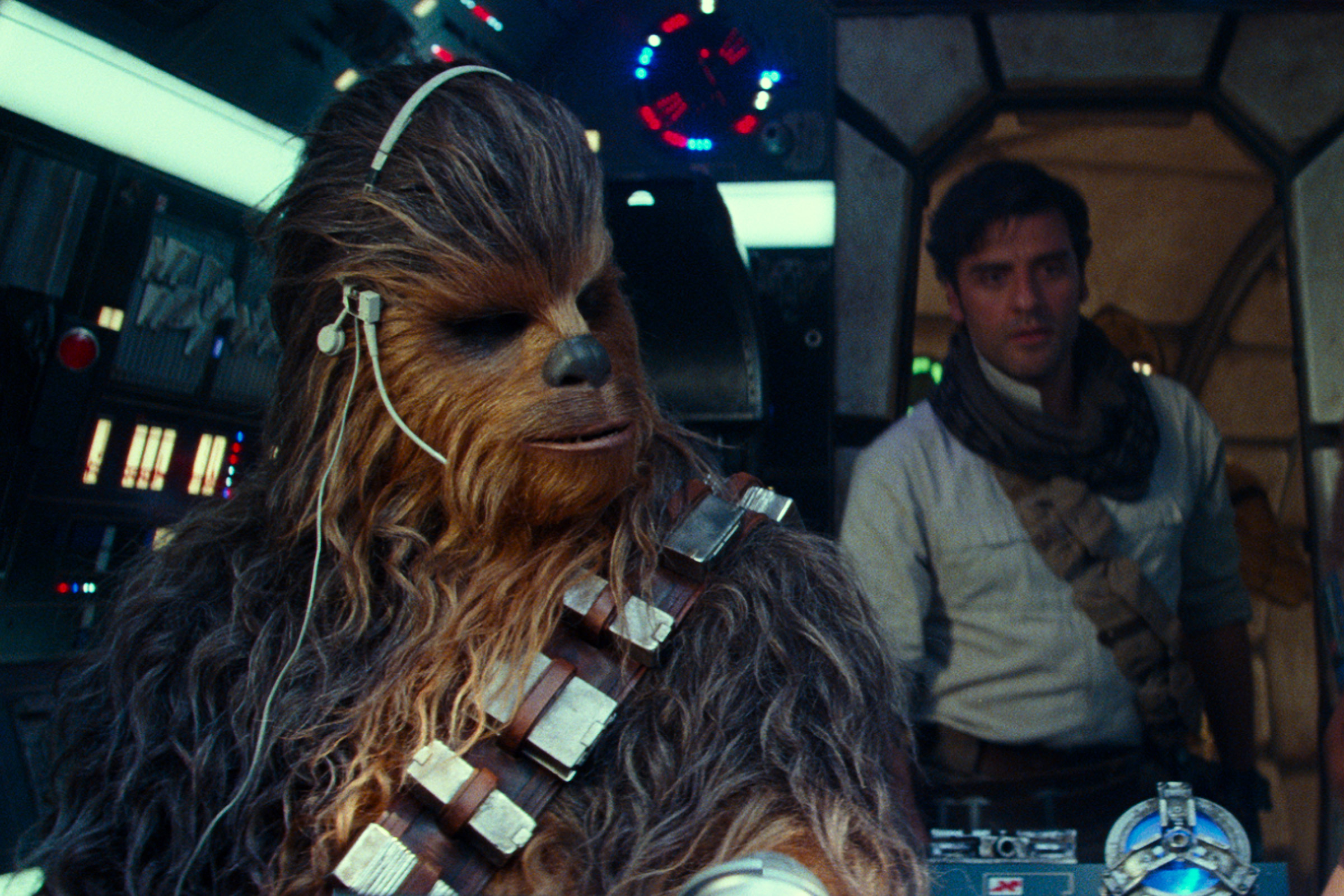 Chewbacca in Star Wars: The Rise of Skywalker