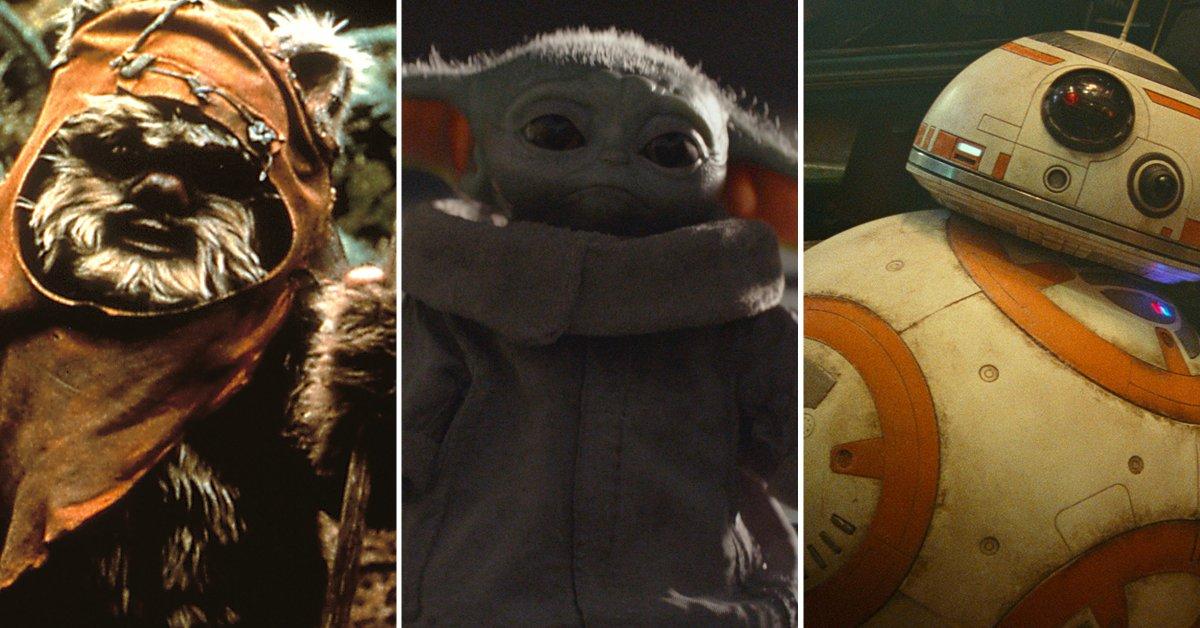Ранжирование самых симпатичных персонажей Звездных войн всех времен, от Эвоков до Бэби Йоды thumbnail