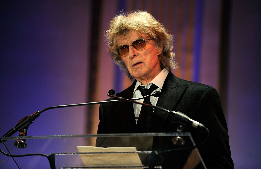Radio personality Don Imus speaks at the 2010 AFTRA AMEE Awards at The Grand Ballroom at The Plaza Hotel on February 22, 2010 in New York City.