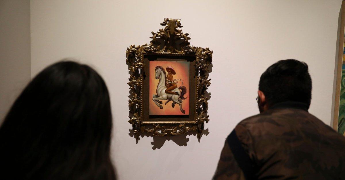 Обнаженный портрет мексиканского революционера Эмилиано Сапата Стокс Противоречие thumbnail