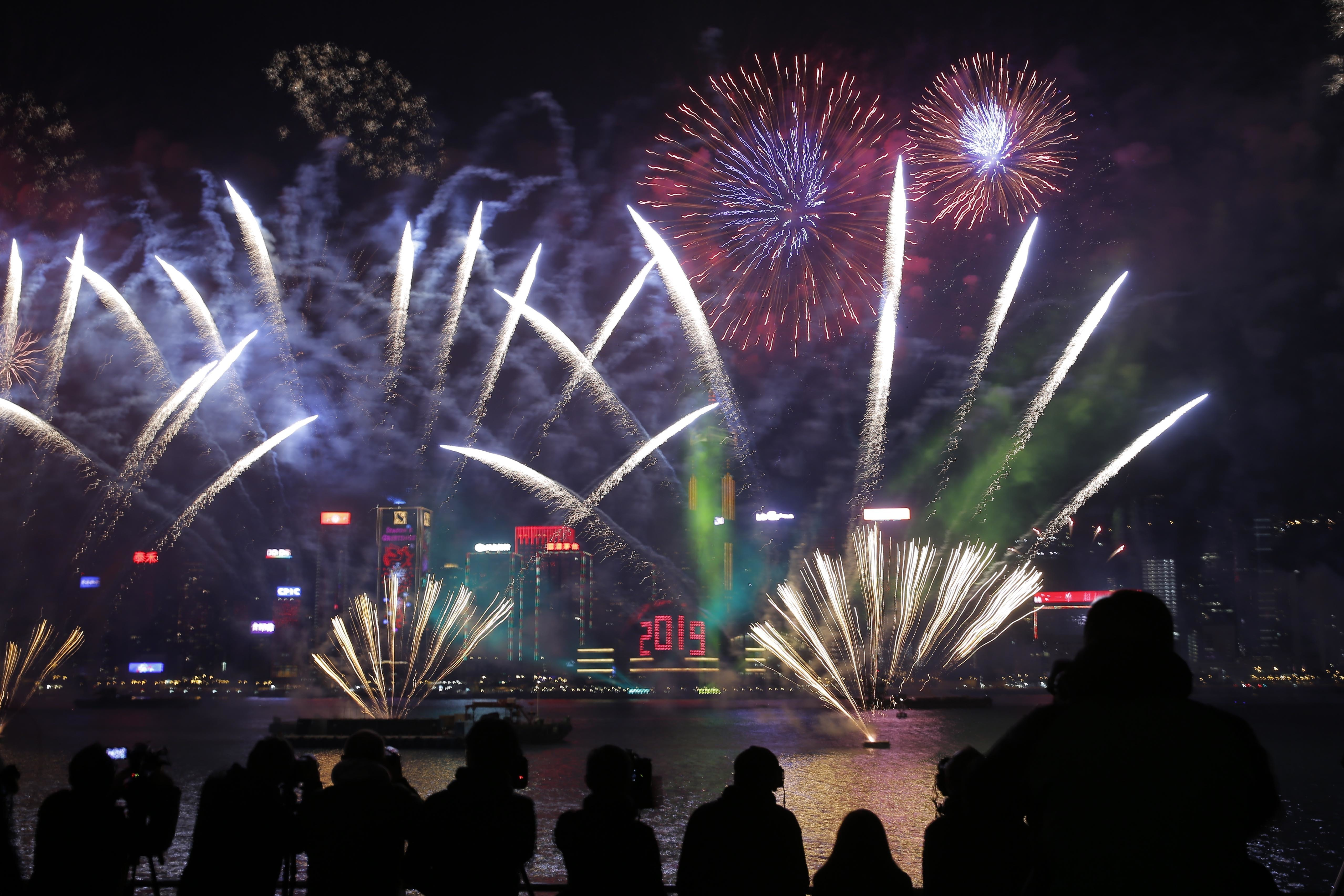 hong kong cancels new year s eve fireworks show over protest fears time 2