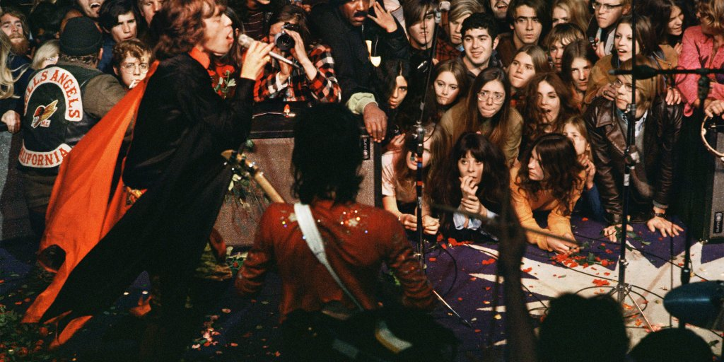 The Daydream of the 1960s Ended 50 Years Ago at Altamont. Here's What the Rolling Stones' Official Photographer Saw That Day