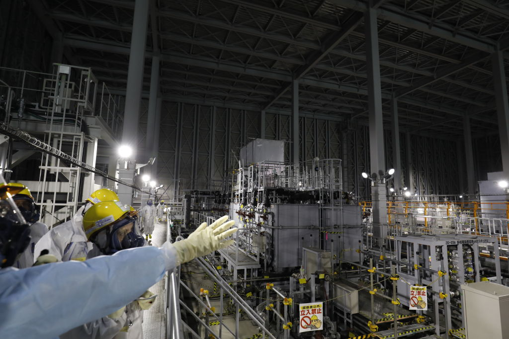 Japanese Officials Propose Releasing Water From the Fukushima Nuclear Plant Into the Environment