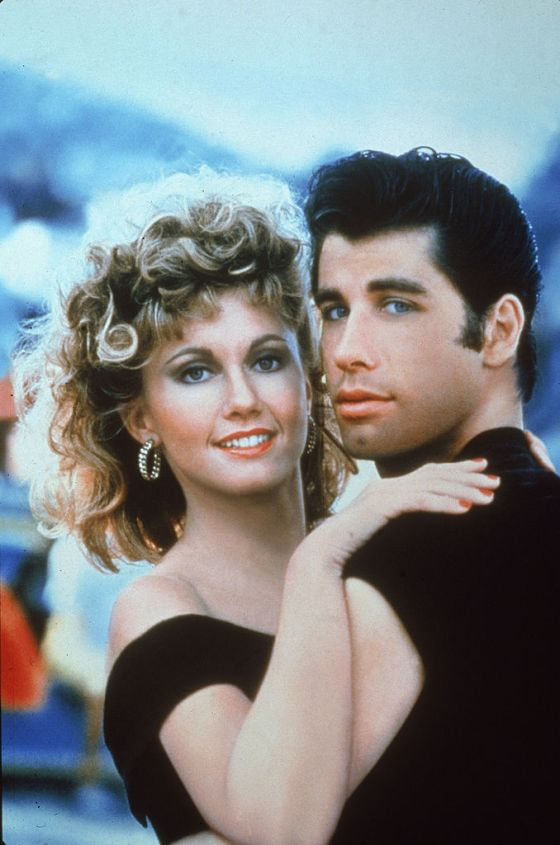 Travolta And Newton-John In 'Grease'