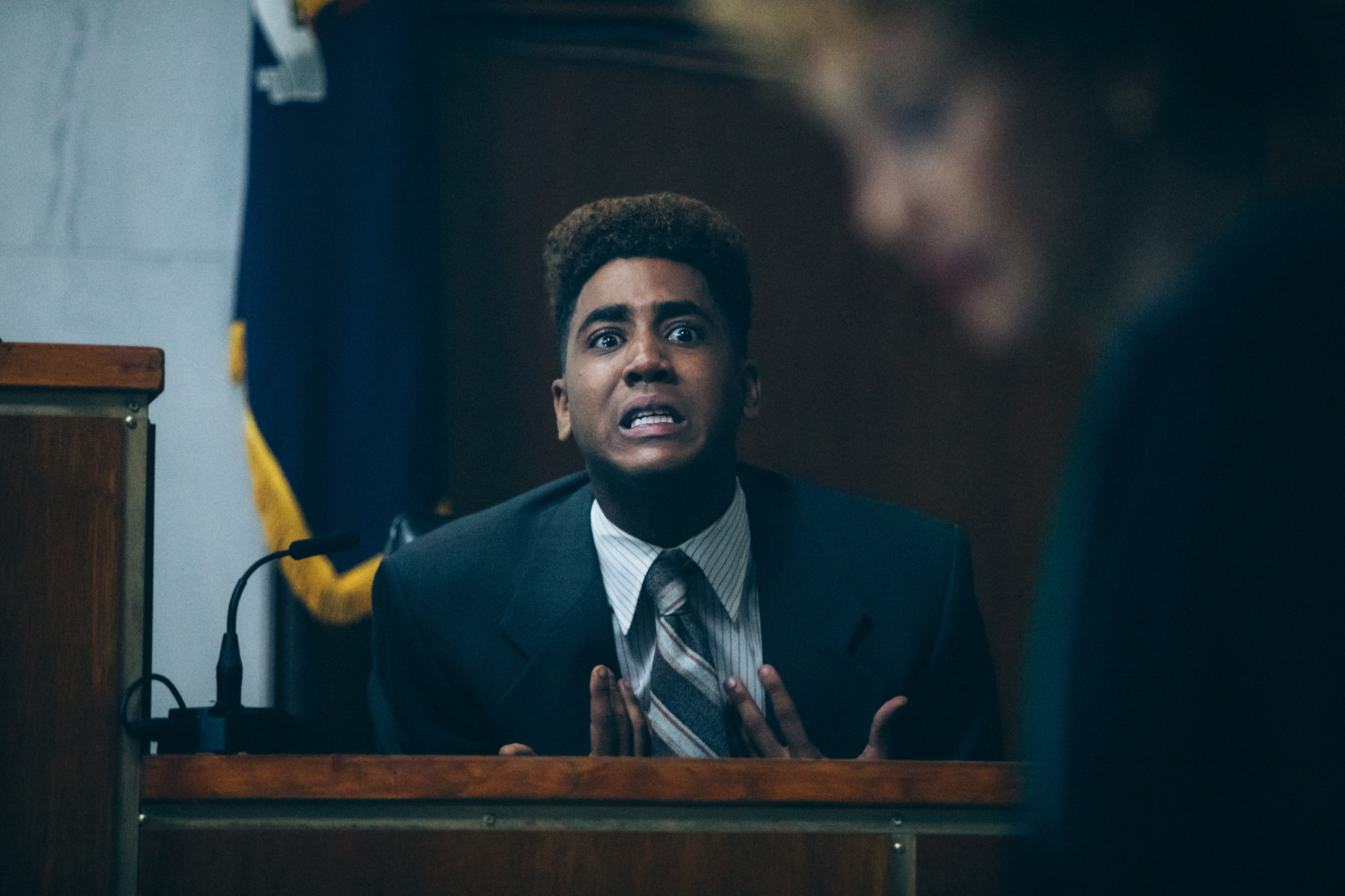 Jharrel Jerome in 'When They See Us.'