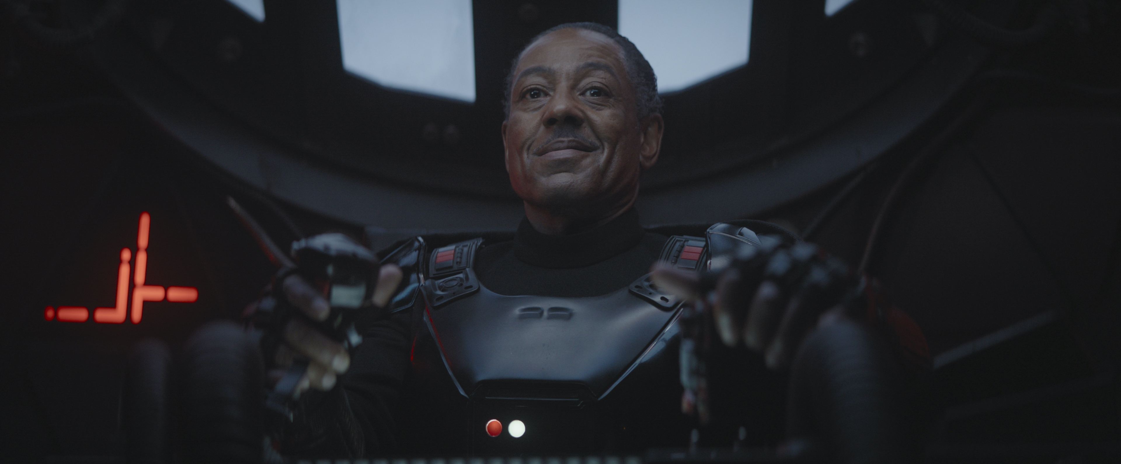 Giancarlo Esposito as Moff Gideon in The Mandalorian