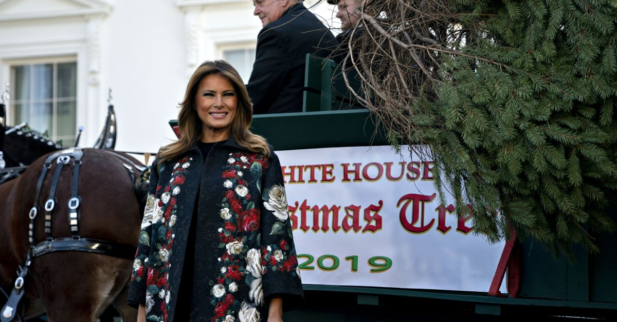Melania Trump's 2019 White House Christmas Decorations Just Arrived
