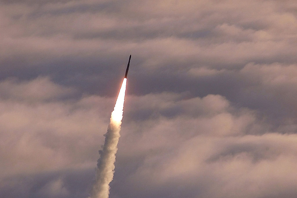 Pentagon Tests Long-Banned Ballistic Missile Over the Pacific