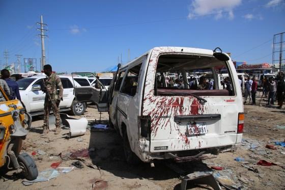 Truck bomb in Somali capital Mogadishu