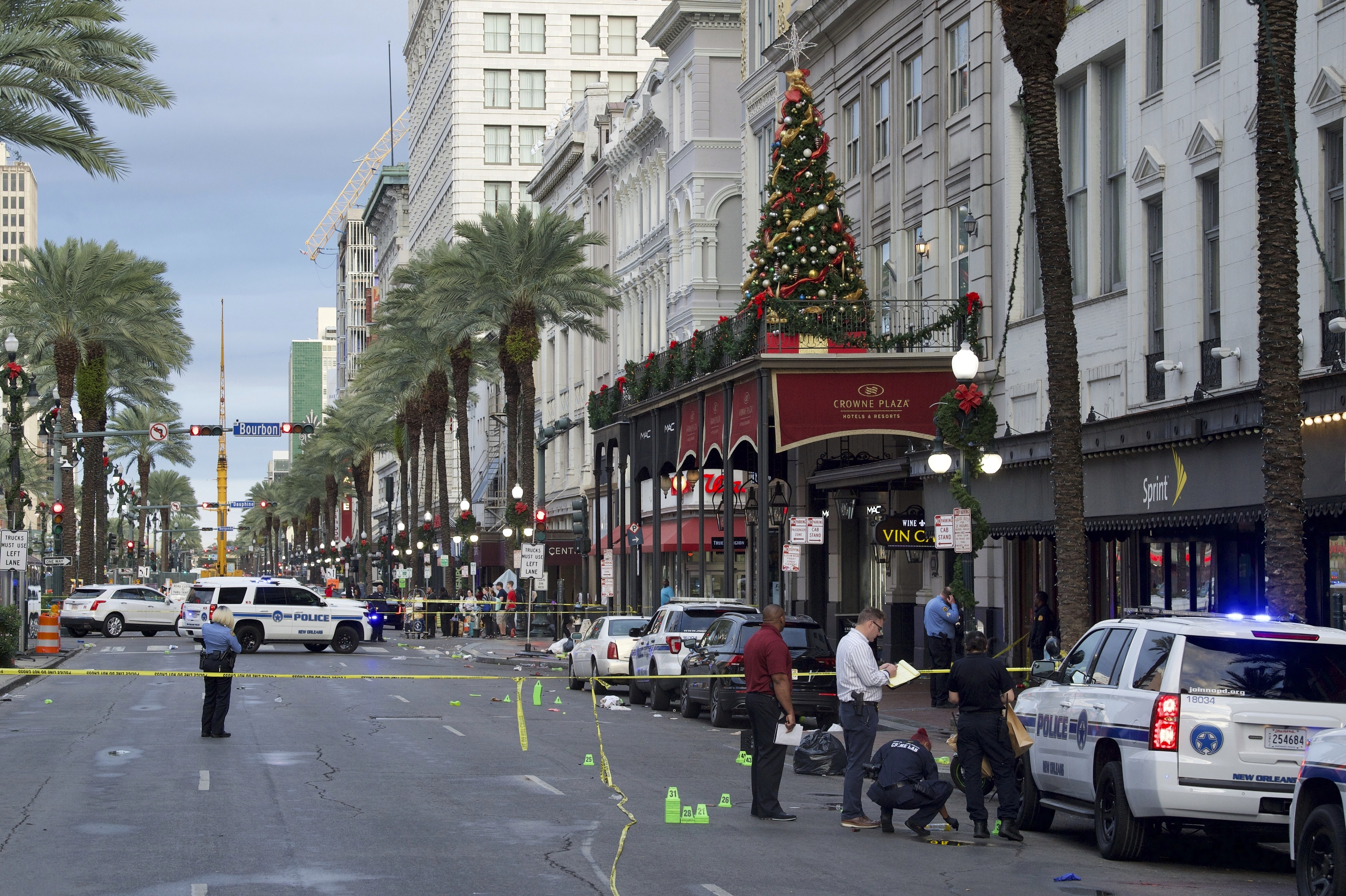 11 People Injured In New Orleans Shooting Time Temperature and humidity of air, pressure, speed and wind direction. https time com 5741996 new orleans shooting
