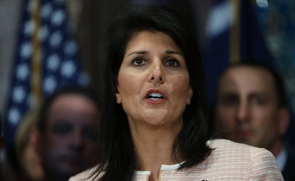 Former South Carolina Governor Nikki Haley Says South Carolinians Saw the Confederate Flag as 'Service' Before Dylan Roof 'Hijacked' It thumbnail