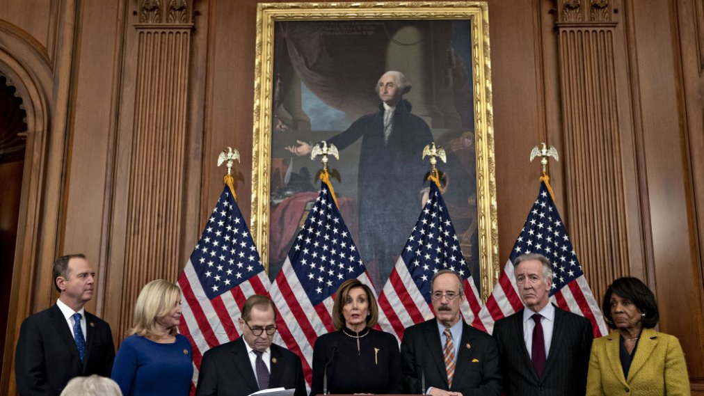 Image result for Democrats Hit Pause on Moving Impeachment to Senate, Citing Concerns Over Fair Trial